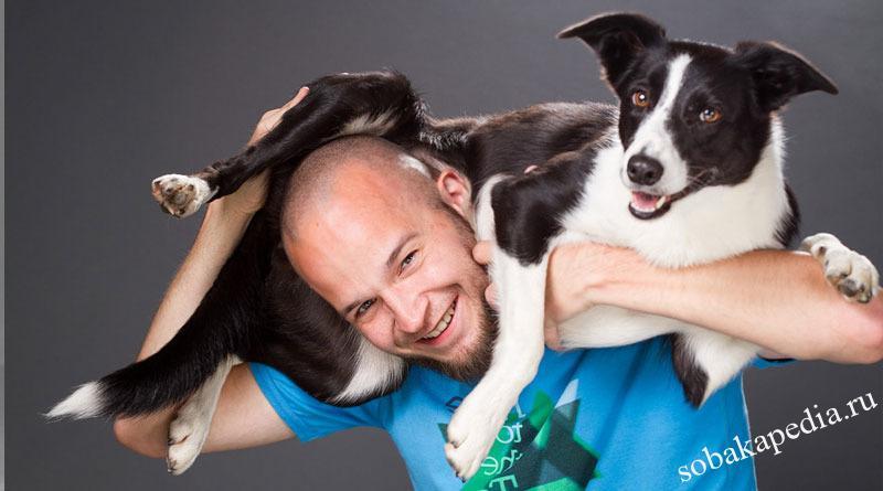 Как научить вашу собаку прыгать через вашу спину